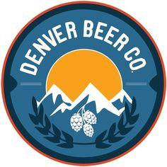 beer logo #circle #beer #identity #logo #mountains