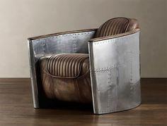 Chair.jpg (Imagem JPEG, 500x380 pixéis) #chair #vintage #airplane