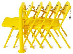 share portable park chair by thomas bernstrand for nola #chair #yellow #stockholm #portable