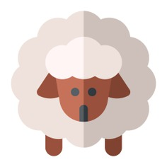 See more icon inspiration related to sheep, wool, animal, sheeps, mammal, farming, ram, mammals, farm and animals on Flaticon.