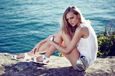 Holly Rose by Darren McDonald for RMK Shoes Spring Campaign #fashion #model #photography #girl