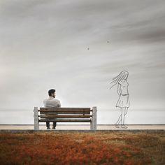 Illustration | Memory II by Hossein Zare