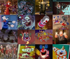 disney clowns and mimes
