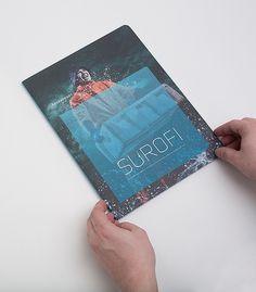 Surofi Annual Report/Conceptual Branding by Tom Emil Olsen #design #graphic