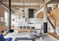 Michigan Loft Inside a Century Old Structure / Vladimir Radutny Architects
