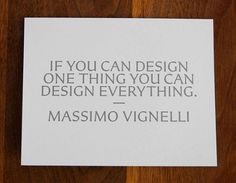 New Work: Art Directors Club Hall of Fame Gala | New at Pentagram | Pentagram #massimo #vignelli #quote #design #graphic