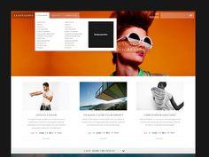 Lustnation Redesign #inspiration #dribbble #lustnation #desktop #design #architecture #fashion #web