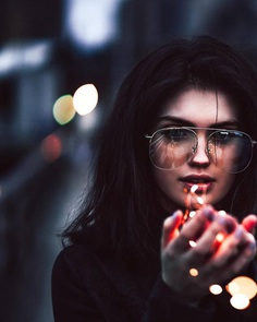 Moody Street Style Portrait Photography by Shani Varner