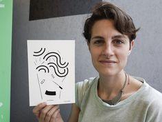 Face-o-mat: Social Portrait Machine - JOQUZ #portrair #drawing #illustration
