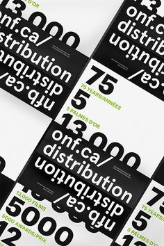 ONF Distribution Catalogue #print #design #bold #book #grotesk #editorial