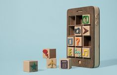 KB5.jpg 705×456 pixels #iphone #toy #wood #wooden