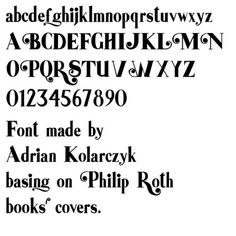 illustrated 'a' #typeface