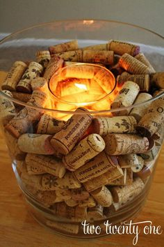 Homemade Wine Cork Crafts