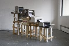 xavier antin / Just in Time, or A Short History of Production #installation