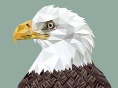 Treagle #eagle #triangles