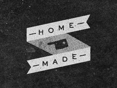 Dribbble - from home by Josh Miranda #made #banner #home #typography