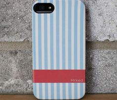Blue Stripes iPhone 5 Case #iphone #case