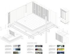 12axo #architecture #detail #axonometric #glass