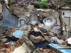 Street Art by Andre Muniz Gonzaga #muniz #andre #art #street #gonzaga