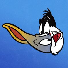 by nicolas cage vampire teeth #mix #bugs bunny #daffy duck