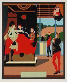 Tom Phillips, 'After Raphael (?)' 1973