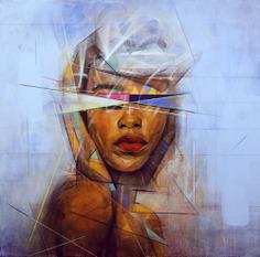 Illustrator & Fine Artist Sam Rodriguez Studio - Masterpicks - Design Inspiration