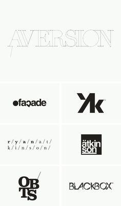 Logos / Marks / Type #ryan #atkinson