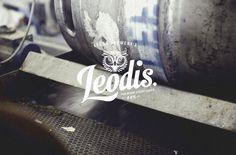 leodis logo #logo #brand #identity #beer