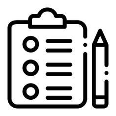 See more icon inspiration related to plan, list, organization, clipboard, files and folders, planning, optimization, organize, study, tasks, investigation and statistics on Flaticon.