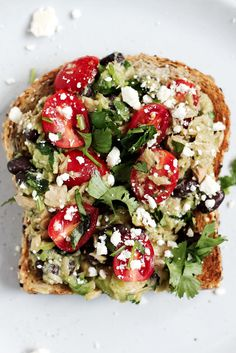 Healthy high-protein avocado tuna salad sandwiches with fiber-rich black beans