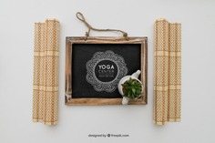 Chalkboard with yoga drawing Free Psd. See more inspiration related to Mockup, Spa, Health, Cute, Yoga, Chalkboard, Mock up, Plant, Decoration, Drawing, Cactus, Bamboo, Healthy, Decorative, Peace, Mind, Balance, Draw, Relax, Pot, Meditation, Wellness, Healthy lifestyle, Lifestyle, Up, Tablecloth, Relaxation, Composition, Mock, Peaceful and Inner on Freepik.