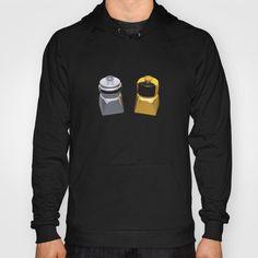 Duplo Daft Punk Hoodie at Søciety6 #daftpunk #artprint #dj #duplo #lego #edm #dj #music #rickardarvius