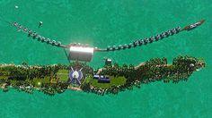 Leonardo DiCaprio is Turning His Private Island in Belize into an Eco-Resort #LeonardoDiCaprio #Belize #EcoResort #BlackadoreCaye #travel