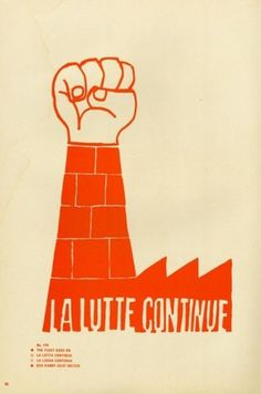Creative Review - May 1968: A Graphic Uprising #paris #rebellion #popular #workshop #poster #may68 #student