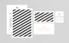Boss & Knight branding #branding #stationery