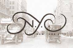 Nyc_street #city #typography #york #logo #new