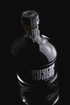 Concept Vodka Burlak by Unblvbl (https://www.behance.net/Unblvbl) #vodka #spirit #burlak #unblvbl #design #bottle #label
