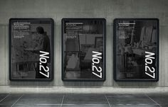 Prahran Mission #white #bold #black #advertising #monochrome #clean #poster #and #numbers
