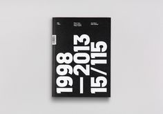 15/115 – 15 Years, 115 Projects Book on Behance #book