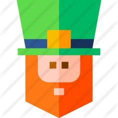 See more icon inspiration related to leprechaun, Irish, Saint Patrick, costumes, ireland, fashion and hat on Flaticon.