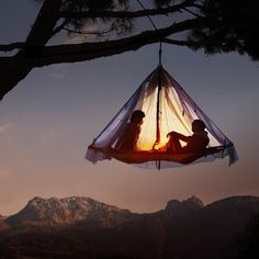 Hanging Cliff Cabana #tech #flow #gadget #gift #ideas #cool