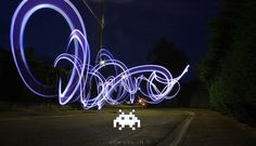 Light Painting Photographer Alexandre Bordereau