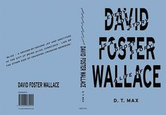 FUEL › GRAPHIC DESIGN › DAVID FOSTER WALLACE #cover #fuel #book #typography