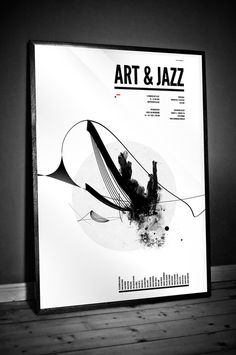 Art and Jazz Poster   Youlookfor . Design