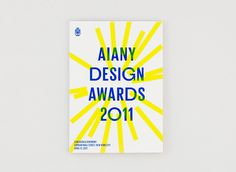 Rumors – AIANY Design Awards 2011 #poster