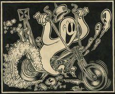 Shawn Dickinson, Ghost Rider, Nd. #bike