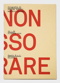 Studio Filippo Nostri #design #graphic #cover #2008 #d