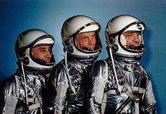 The Historic Flight of Mercury 6 - Alan Taylor - In Focus - The Atlantic #astronaut #glenn #john #alan #virgil #shepard #grissom