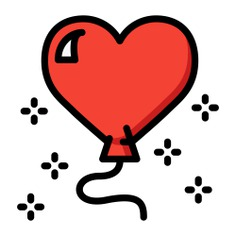 See more icon inspiration related to heart, birthday, balloon, birthday and party, heart balloon, heart shaped, celebration, decoration, love and party on Flaticon.