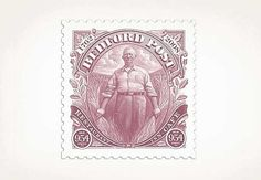 FFFFOUND! #pink #stamp #print #design